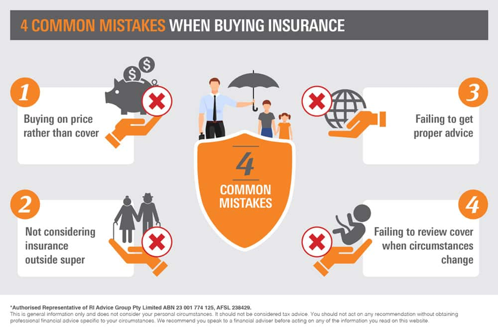 Four Common Mistakes When Buying Insurance